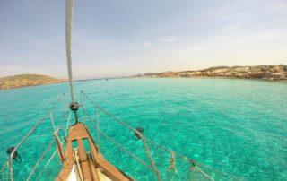 alquiler de barco con patrón en ibiza