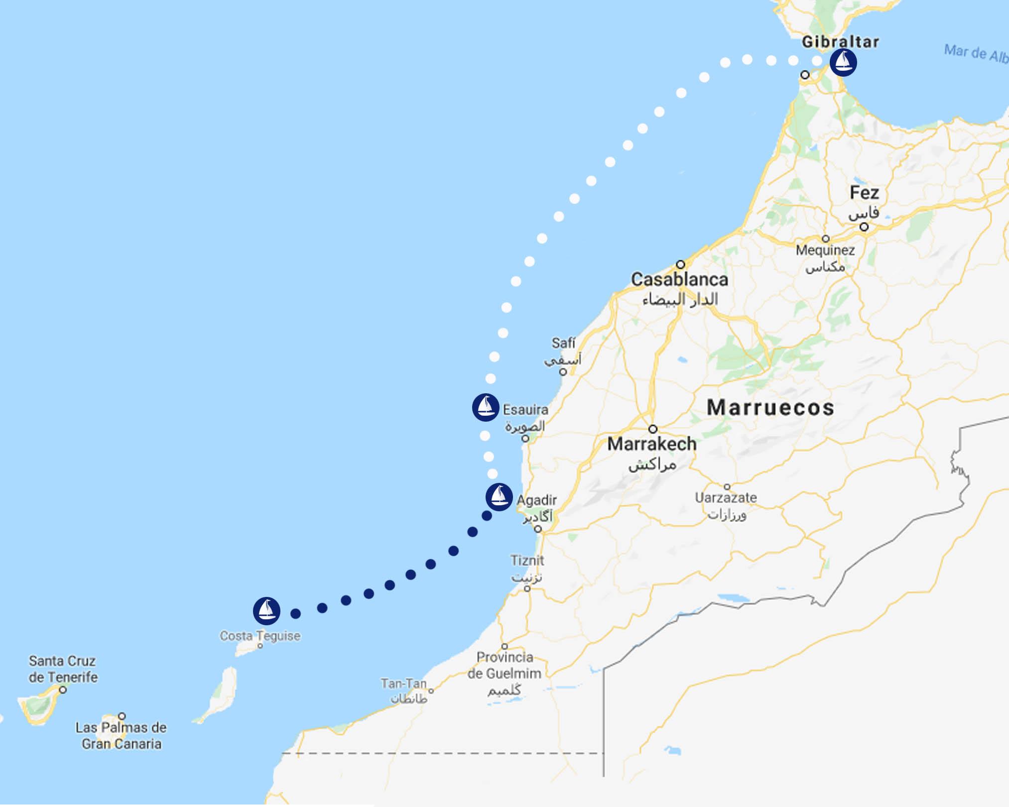 marruecos oeste